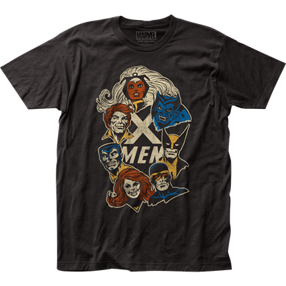 X-Men Faces T-Shirt
