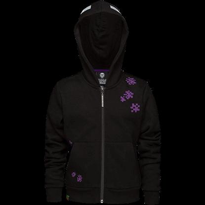 Youth Minecraft Enderman Hooded Jacket