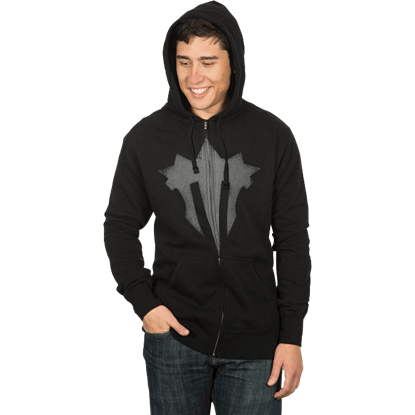 World of Warcraft Iron Horde Logo Hooded Jacket