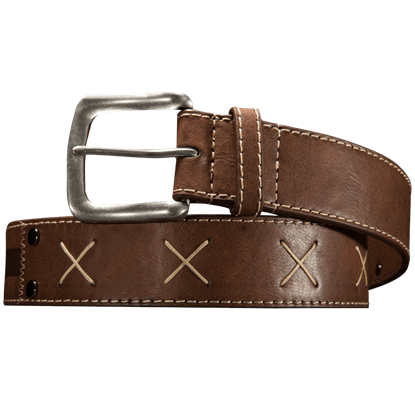 The Witcher White Wolf Faux Leather Belt