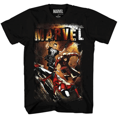 Marvel Team-Up Spiderleap T-Shirt