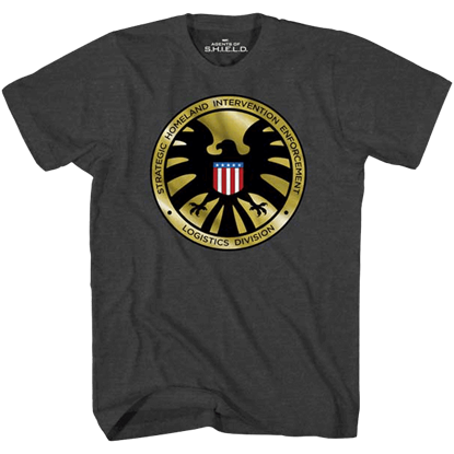 S.H.I.E.L.D. Agent Badge T-Shirt