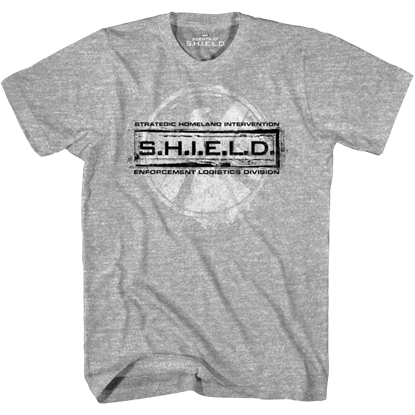 Grey Agents of S.H.I.E.L.D. T-Shirt