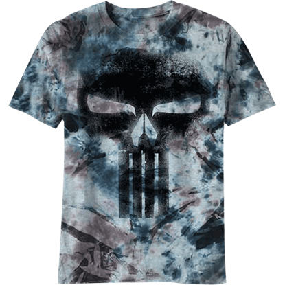 Marbled Punisher Logo T-Shirt
