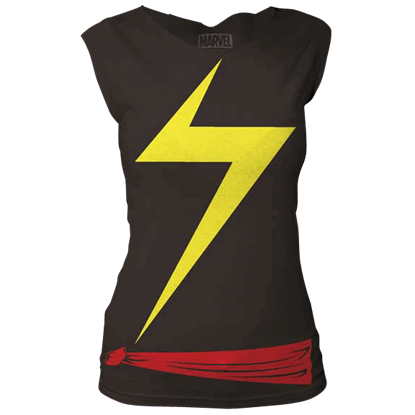 Ms. Marvel Suit Sleeveless Top