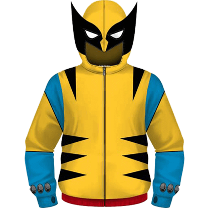 Junior Wolverine X-Men Uniform Hoodie