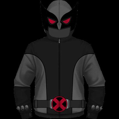 Gray Wolf Wolverine Uniform Hoodie