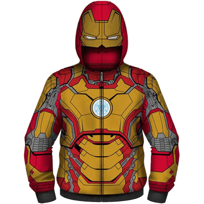 Junior Iron Man Suit Hoodie