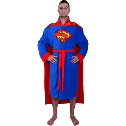 DC Superman Robe with Cape