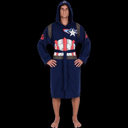 Avengers 2 Captain America Jersey Robe