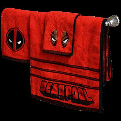 Marvel Deadpool 3 Piece Towel Set