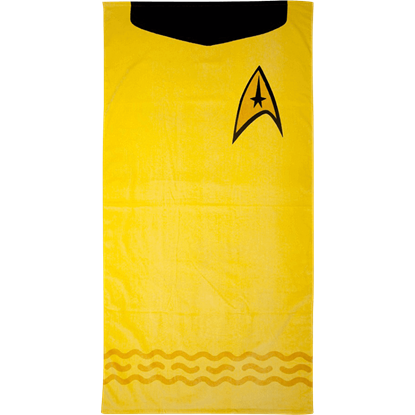 Star Trek Kirk Uniform Beach Towel