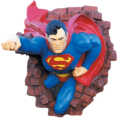 Collectors Edition Superman Wall Mount