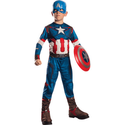 Boys Age of Ultron Captain America Costume