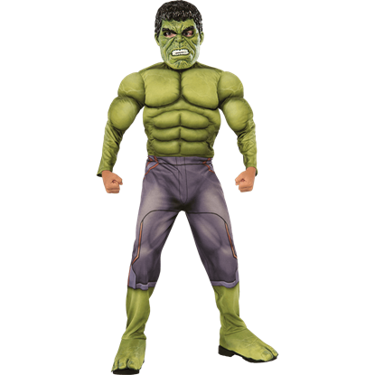 Boys Age of Ultron Deluxe Hulk Costume