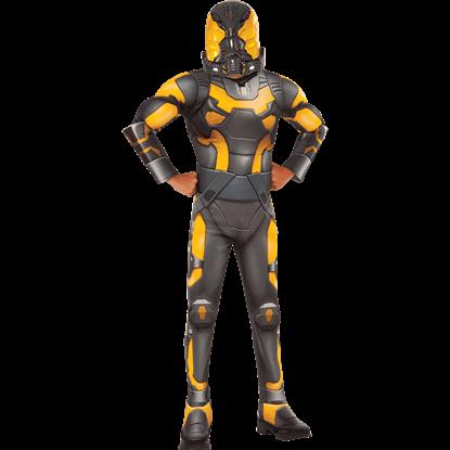 Boys Deluxe Yellowjacket Costume