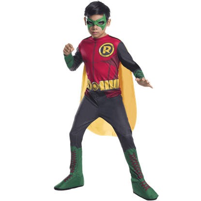 Boys DC Superheroes Robin Costume