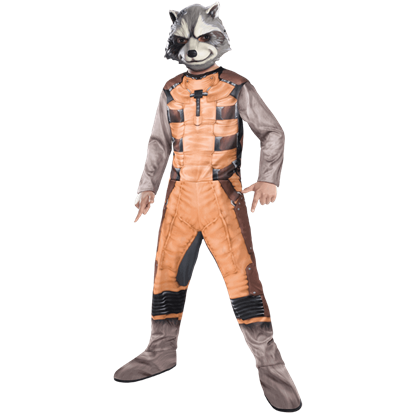 Kids Rocket Raccoon Costume