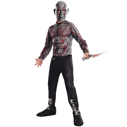 Kids Drax the Destroyer Costume