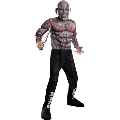 Kids Deluxe Drax the Destroyer Costume