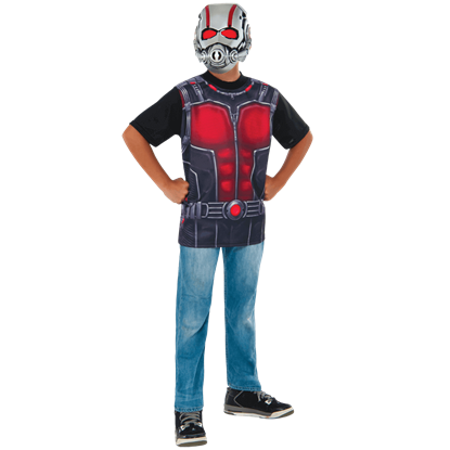 Kids Ant-Man Costume Top and Mask
