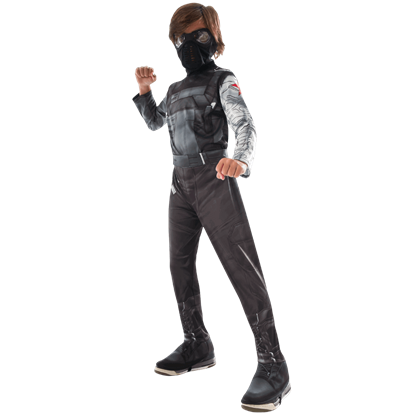 Kids Marvel Civil War Winter Soldier Costume