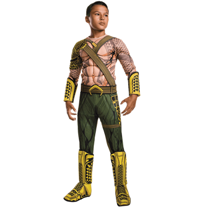Kids Deluxe Aquaman Costume