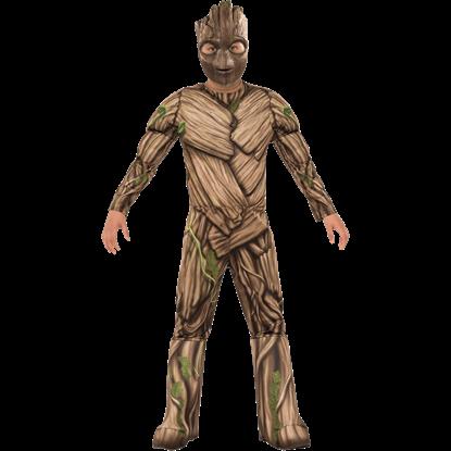 Kids Deluxe Groot Costume