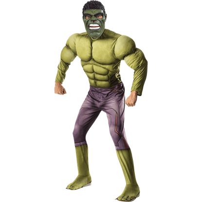 Age of Ultron Deluxe Hulk Costume