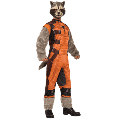 Adult Deluxe Rocket Raccoon Costume