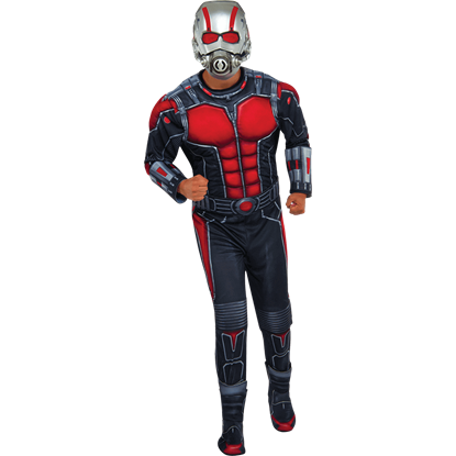 Mens Deluxe Ant-Man Costume