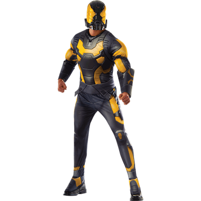 Mens Deluxe Yellow Jacket Costume
