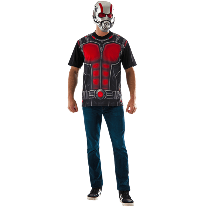 Adult Ant-Man Costume Top and Mask