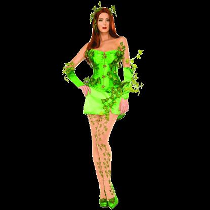DC Comics Poison Ivy Deluxe Corset Costume