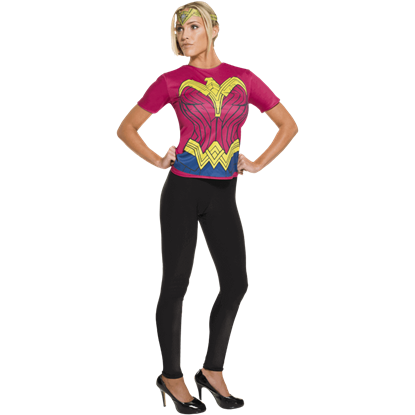 Adult Wonder Woman Costume Top