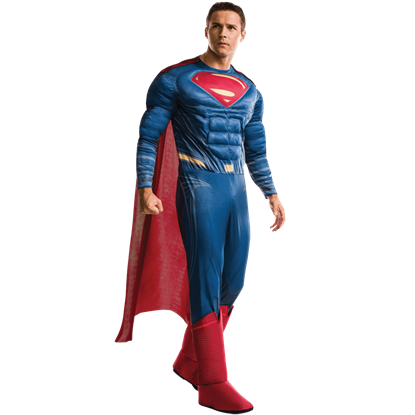 Adult Deluxe Dawn of Justice Superman Costume