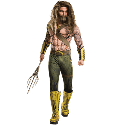 Adult Deluxe Dawn of Justice Aquaman Costume
