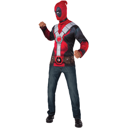 Adult Deadpool Costume Set