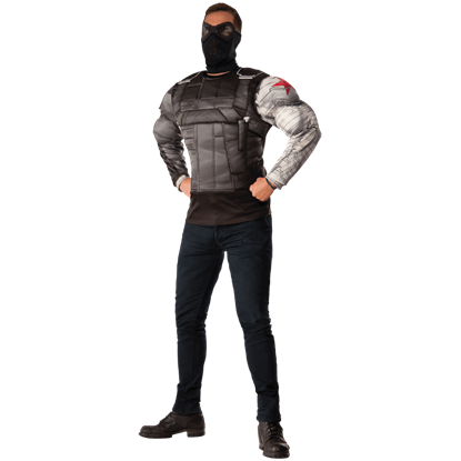 Adult Civil War Deluxe Winter Soldier Costume Set
