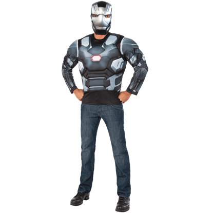 Adult Civil War Deluxe War Machine Costume Set