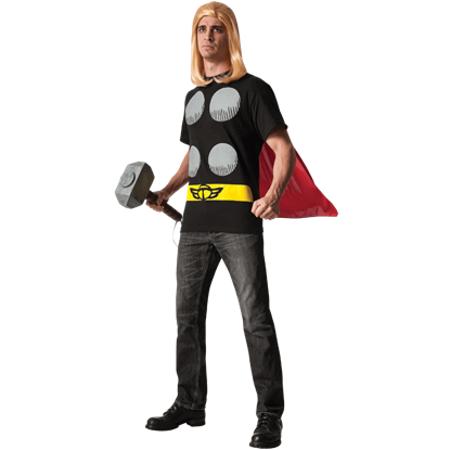 Adult Thor Costume Top and Cape