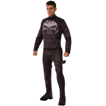 Adult Deluxe Punisher Costume