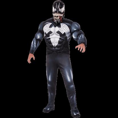 Adult Deluxe Venom Costume