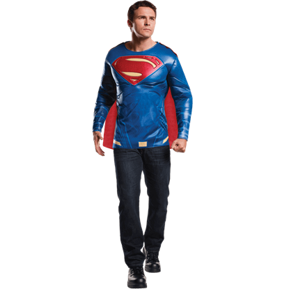 Adult Dawn of Justice Deluxe Superman Costume Set