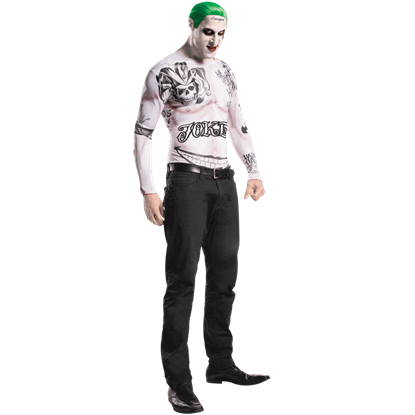 Adult Suicide Squad Joker Costume Kit