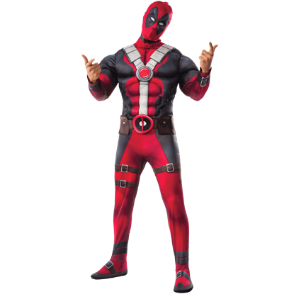 Adult Deluxe Deadpool Costume