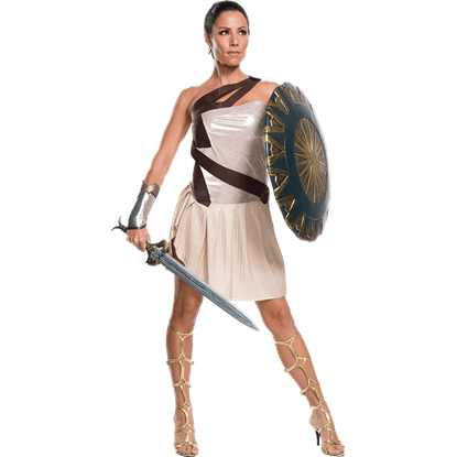 Adult Deluxe Wonder Woman Beach Battle Costume