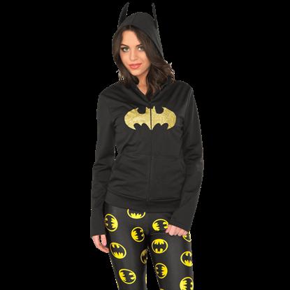 Batgirl Fitted Hoodie