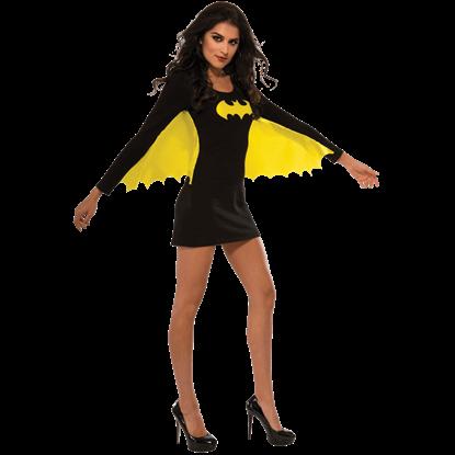 Adult Batgirl Wing Dress Costume