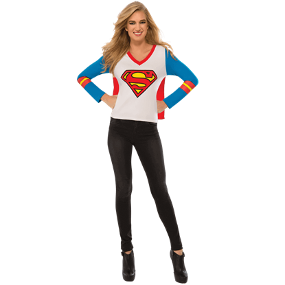 Adult Supergirl Sporty T-Shirt